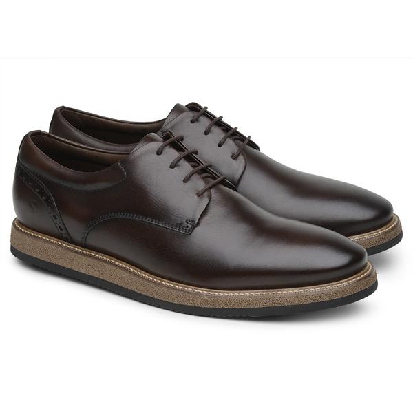Sapato Casual Derby Café 8400