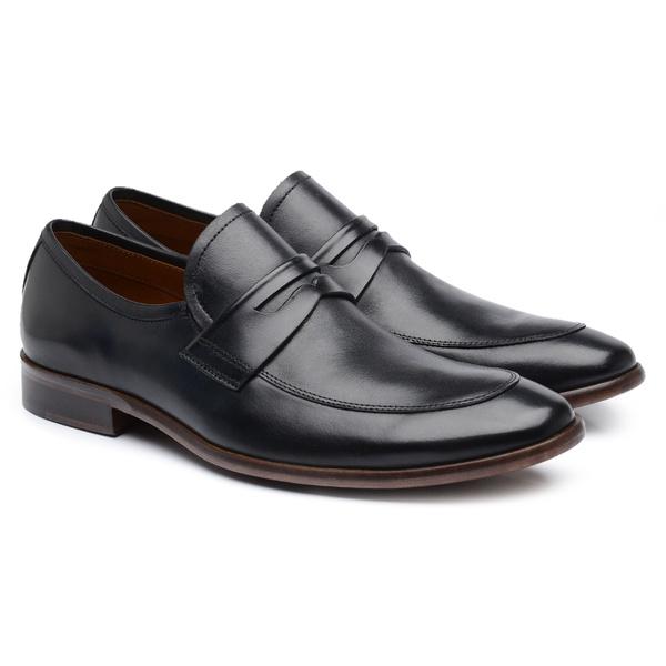 Sapato Social Masculino Preto B59