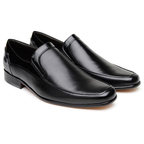 Tamanho Especial Sapato Scatamacchia Preto 452