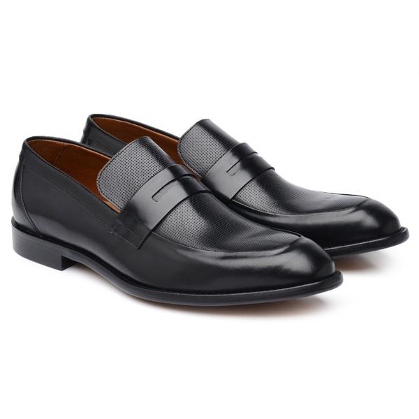 Sapato Social Preto H06