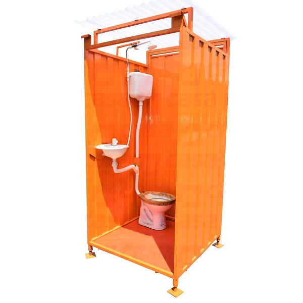 Banheiro Metálico Para Canteiro de Obras