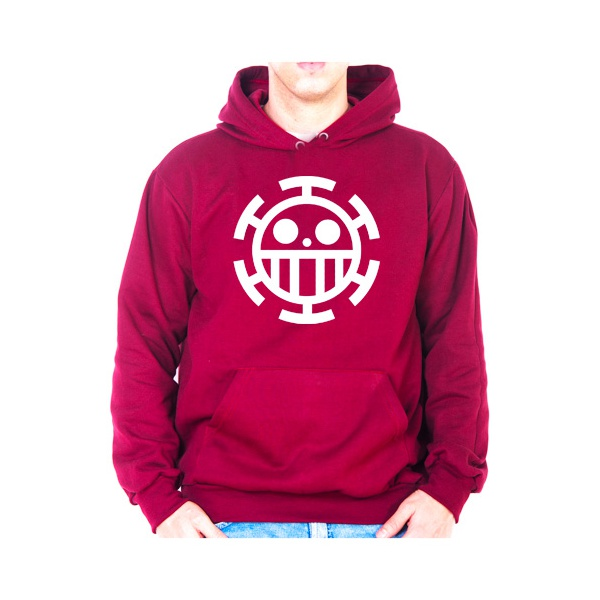 Moletom Unissex One Piece - Bordo