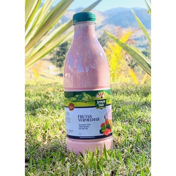 Iogurte Frutas Vermelhas 1L