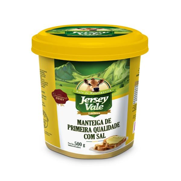 Manteiga de Primeira Qualidade com Sal 500g