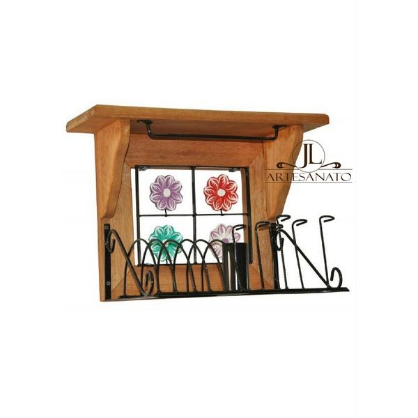 Paneleiro 40cm - Florzinhas coloridas