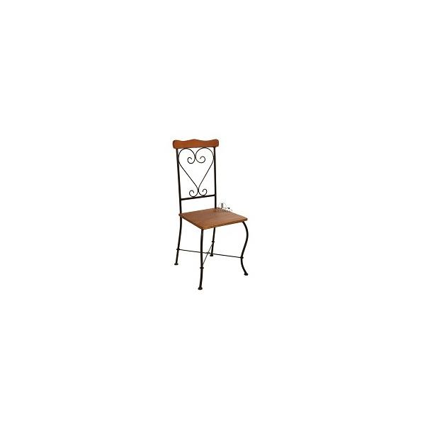 Cadeira de Jantar Encosto Coração
