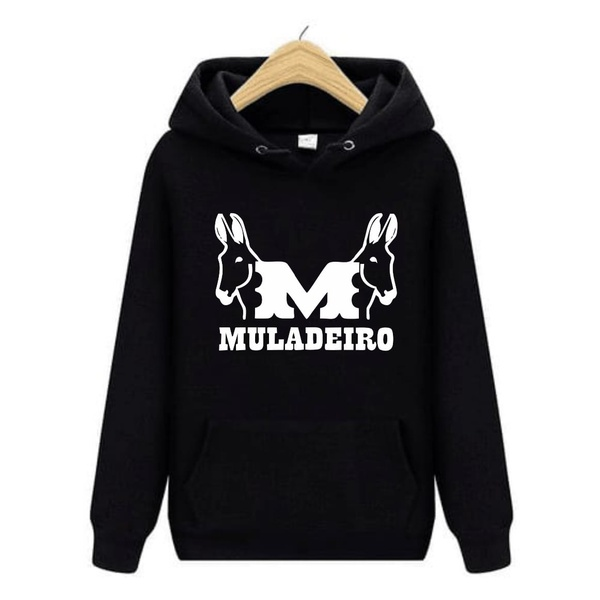 Moletom Country Muladeiro Preto