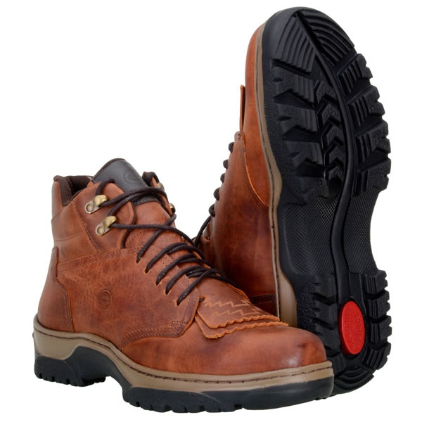 Tênis Country Masculino Couro Rustic Castor