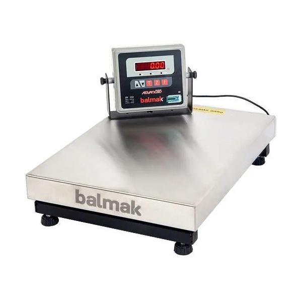 Balança de Plataforma Balmak INOX BK-300 (300Kgx100g) - 40x55cm