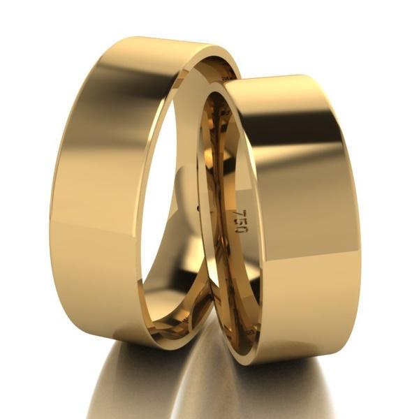 Alianças 6mm de Casamento Pinhão
