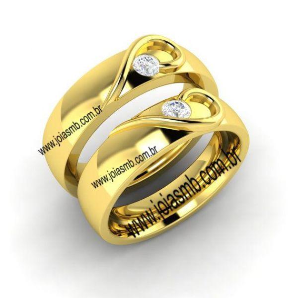 Alianças de Casamento Colinas do Tocantins 7,5mm