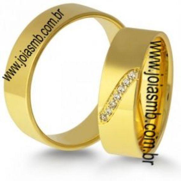 Alianças de Casamento Ribeira do Pombal 6,7mm