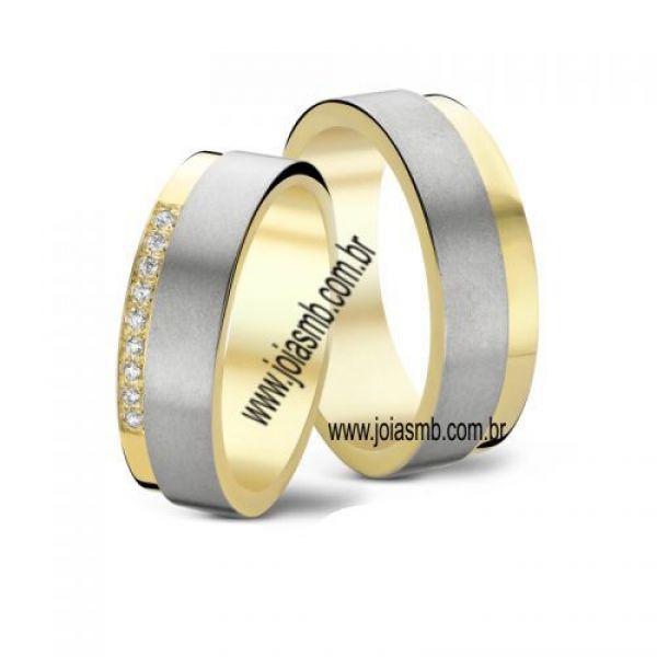Alianças de Casamento Bauru 8,5mm