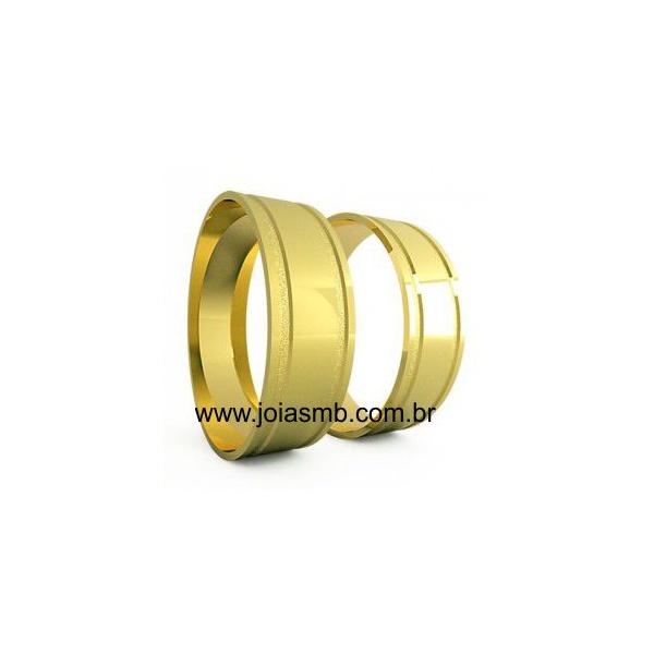 Alianças de Casamento Campos do Jordão 7,5mm