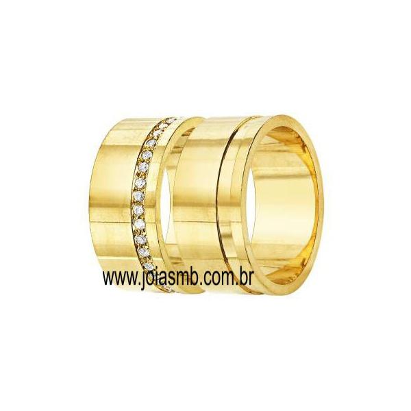 Alianças de Casamento Carangola 10mm