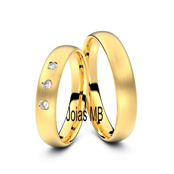 Alianças 4mm de Casamento Rio Negrinho