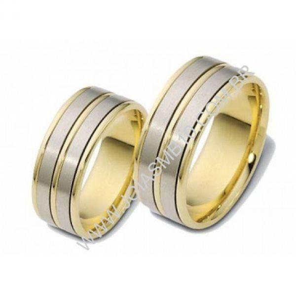Alianças de Casamento Joinville 8mm