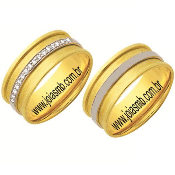Alianças de Casamento Madrid 6,5mm