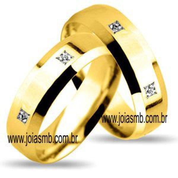 Alianças de Casamento Miami 7,4mm