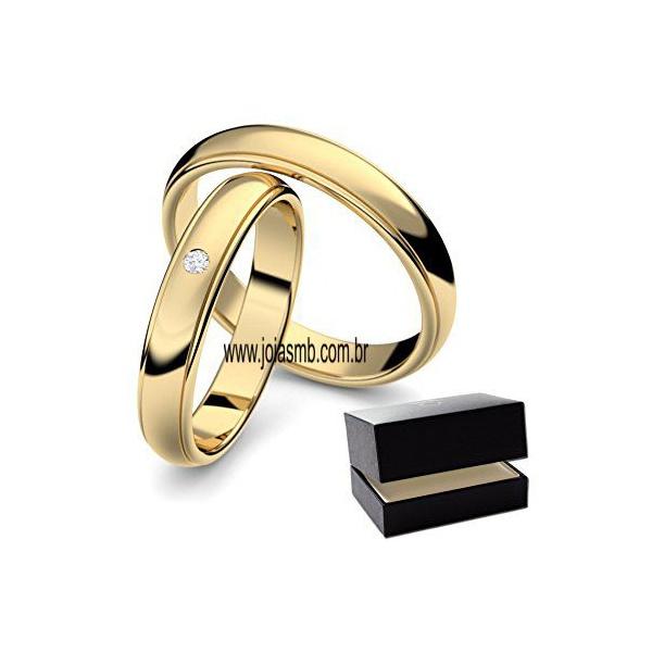 Alianças 5mm de Casamento Peixoto de Azevedo