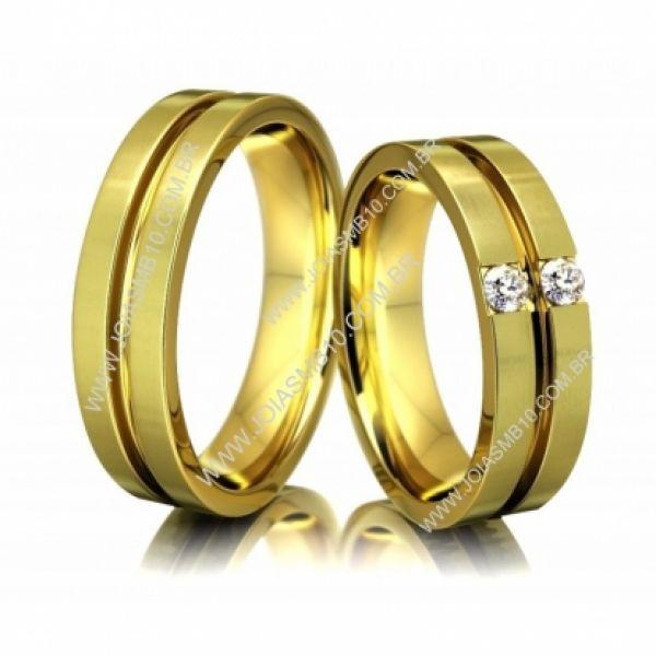 Alianças de Casamento Colônia 6mm