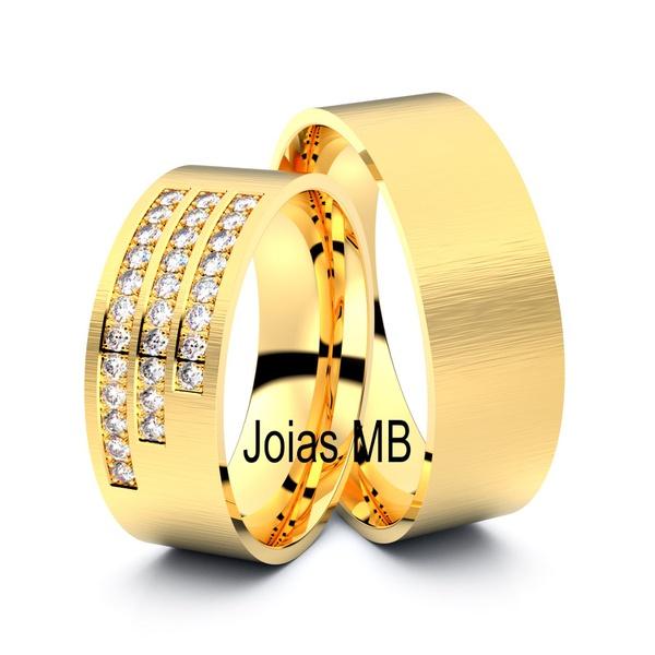 Alianças de Casamento São João da Boa Vista 7,5mm