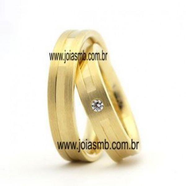 Alianças de Casamento São Luis 6,4mm