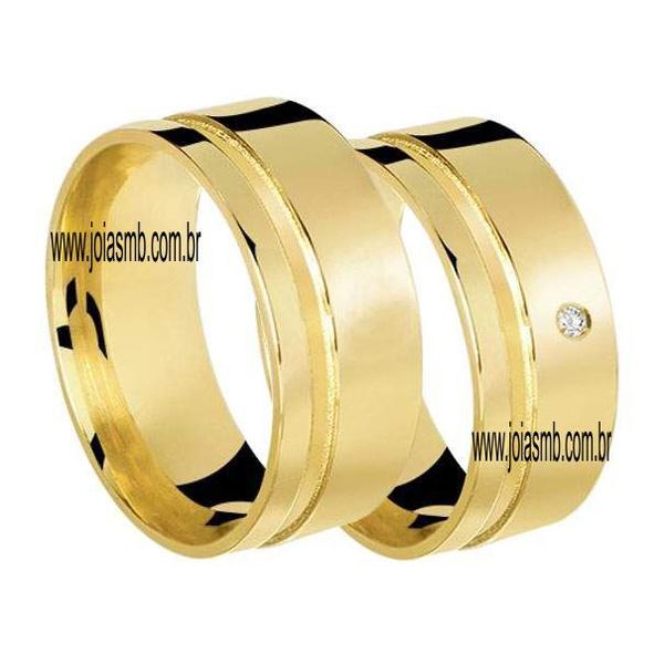 Alianças de Ouro Anatômica Aparecida de Goiania 6,5mm