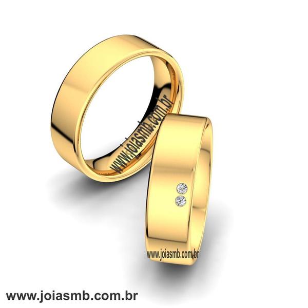 Alianças de Ouro Anatômica Ribeirão Preto