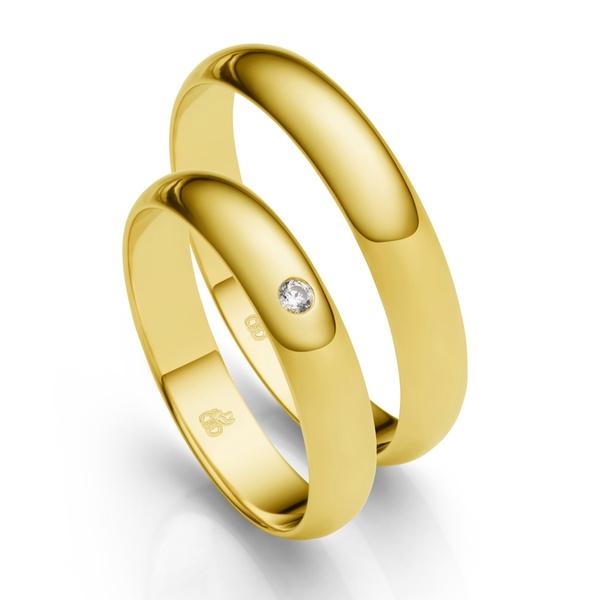 Alianças de Casamento Rondônia 4mm