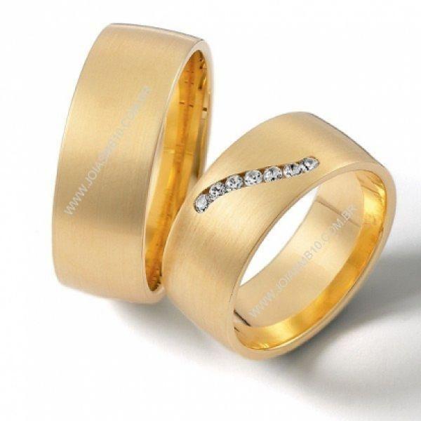 Alianças de Diamantes Aparecida de Goiania 8,8mm
