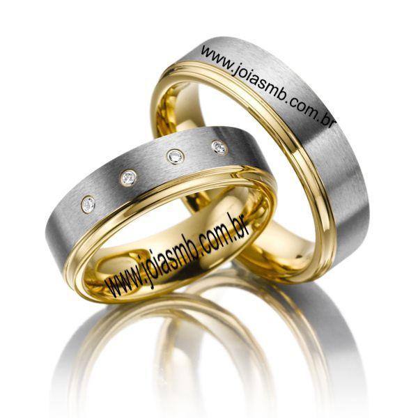 Alianças de Casamento Matão 6mm