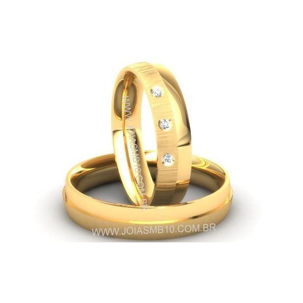 Alianças de Casamento Jussara