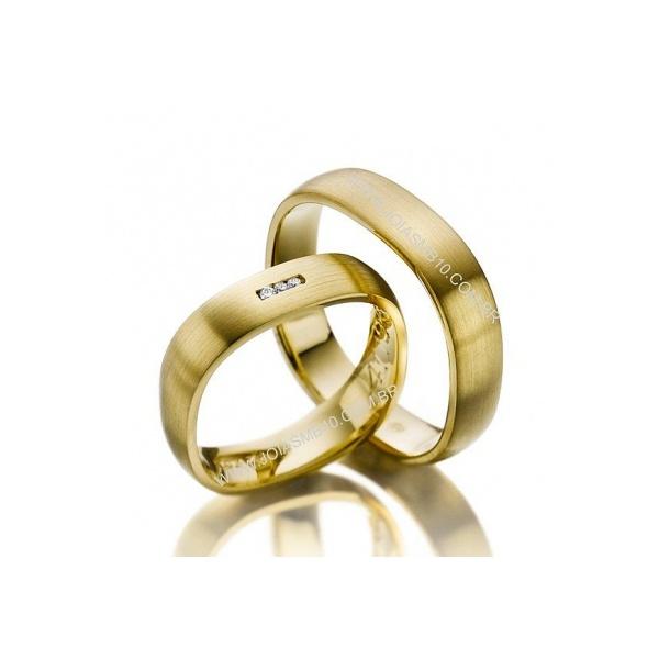Alianças de Casamento Sudoeste/Octogonal