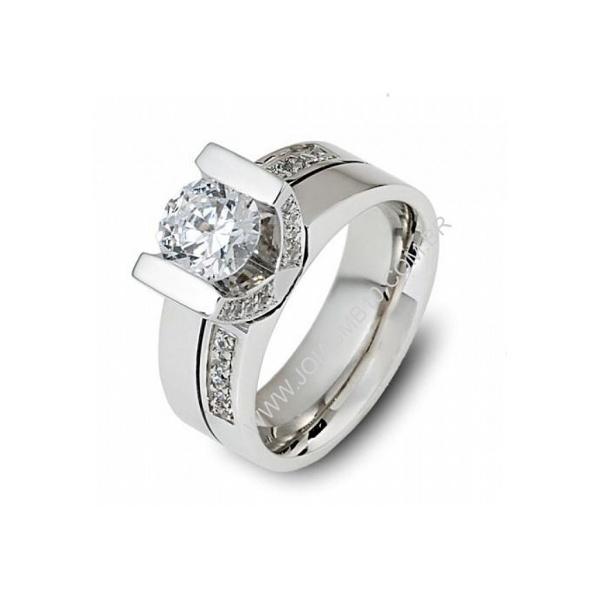Anel Solitário 1,00 Quilates Diamantes