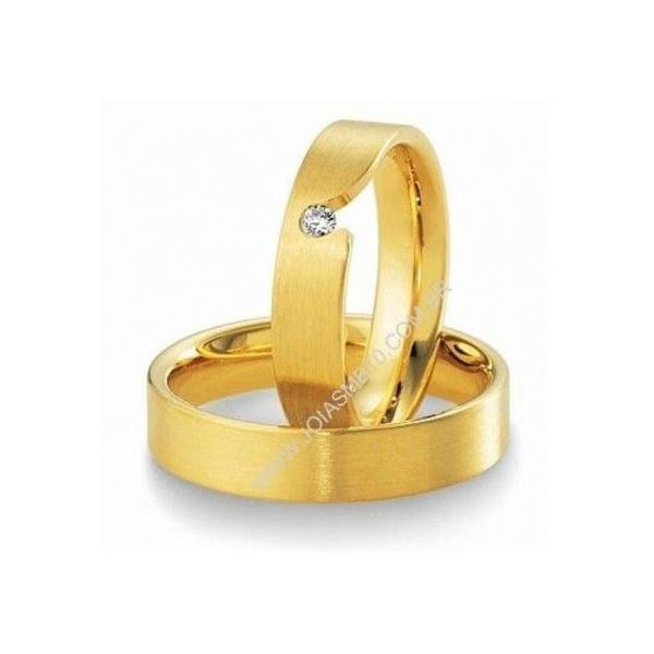 Alianças de Casamento San Antonio 5mm