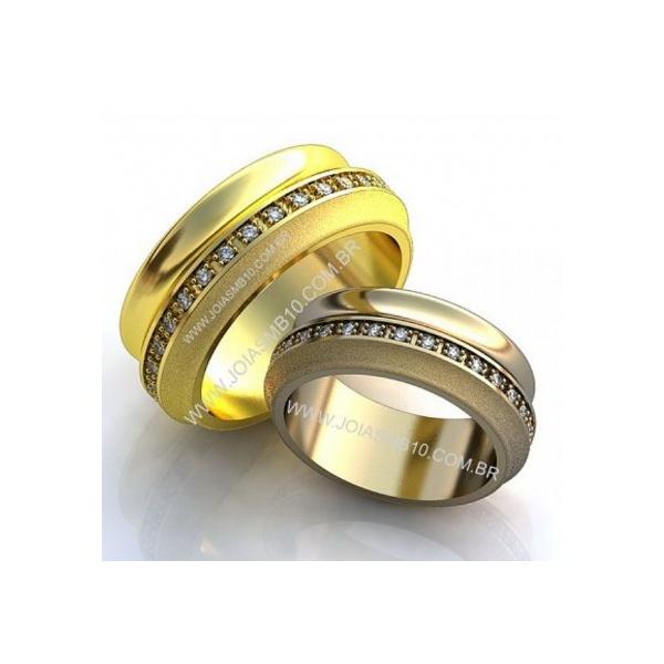 Alianças de Casamento Pontalina 8,4mm