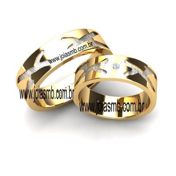 Alianças de Casamento Santa Rosa 7,3mm