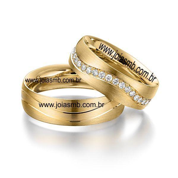 Alianças de Casamento Serrinha 7,3mm