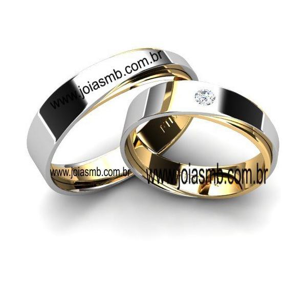 Alianças de Casamento Caucaia 5,5mm