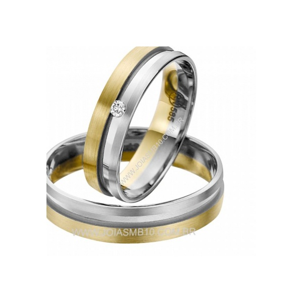 Alianças de Casamento Jataí 6,2mm