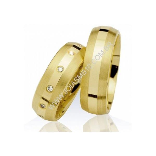 Alianças de Casamento Naviraí 6,4mm