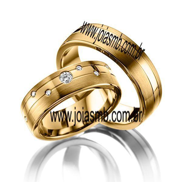Alianças de Casamento Lajeado 8mm