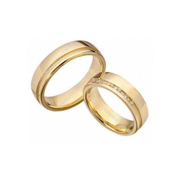 Alianças de Casamento Sertãozinho 6,5mm