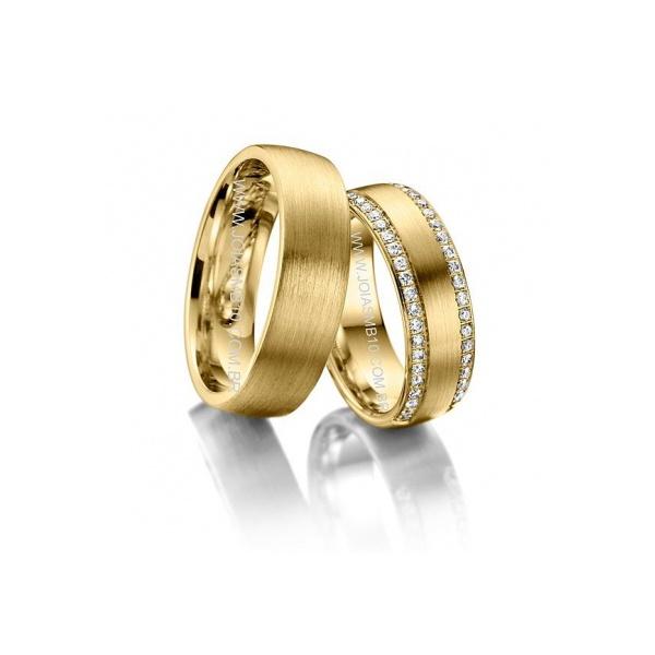 Alianças de Casamento Nova Venécia 8,5mm