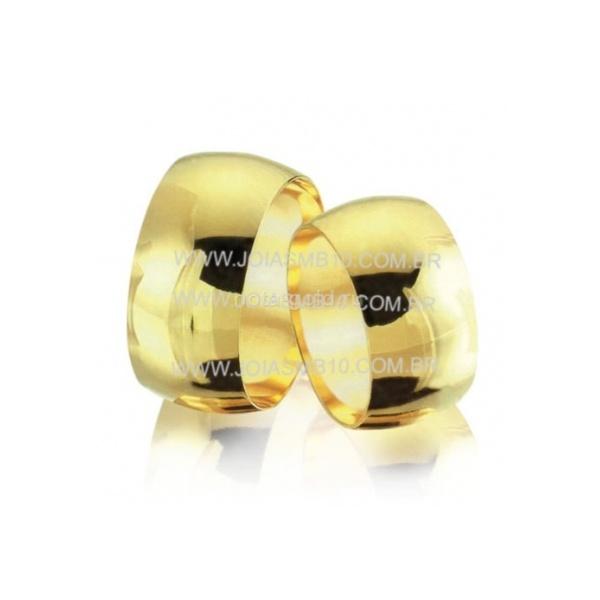 Alianças de Ouro BH 12,5mm