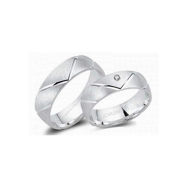 Alianças de Prata Jacareí 7,5mm