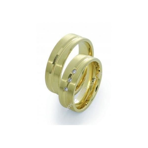Alianças de Casamento Oriximiná 6,5mm