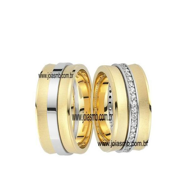 Alianças de Casamento Três Coroas