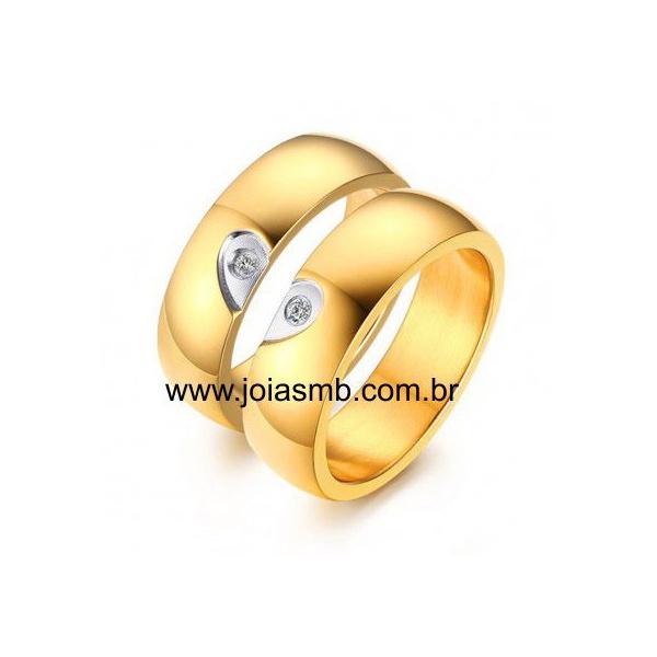Alianças de Casamento Brumado 5mm